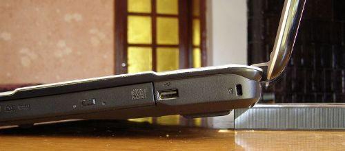 Преподнимание заднего торца ноутбука
