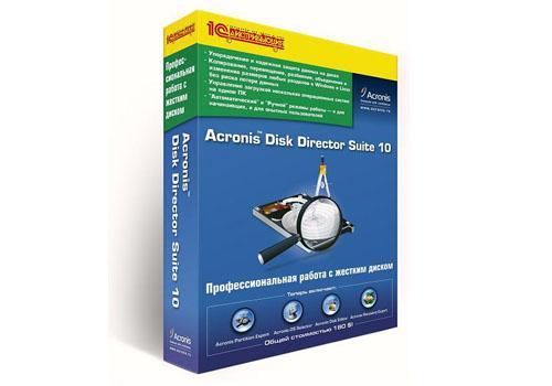 Изменение разделов жесткого диска с помощью Acronis Disk Director