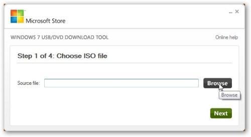 Выбираем ISO-образ системы Windows 8