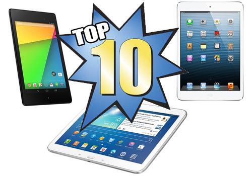 Самые популярные планшеты 2014 года