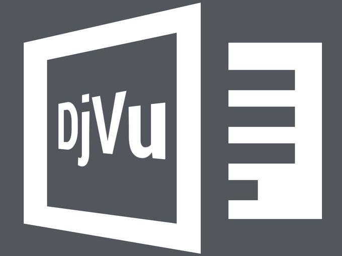 Чем и как открыть файл djvu?