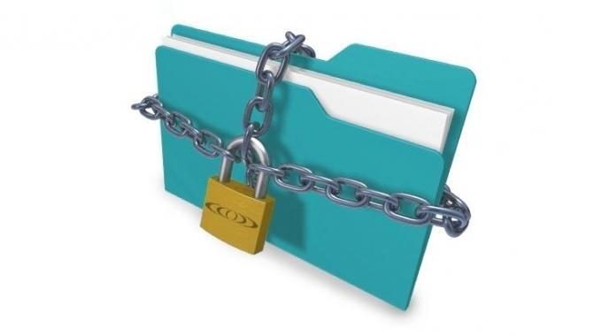Как поставить пароль на папку или файл