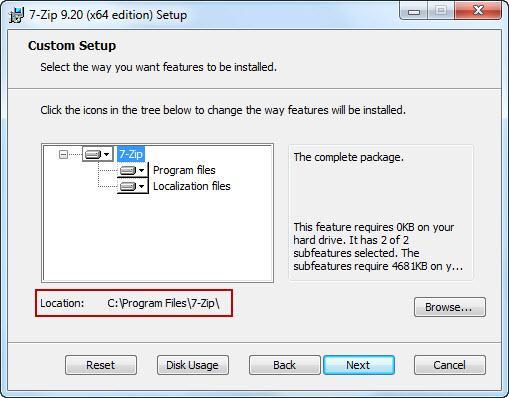 Установить архиватор 7 zip - 71