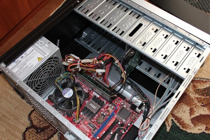 Материнская плата компьютера