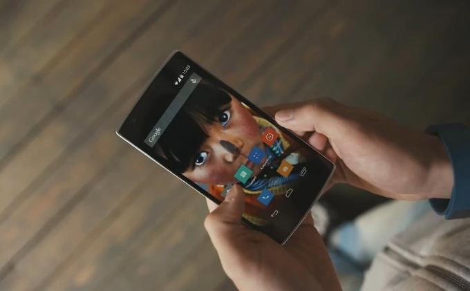 Экран у OnePlus
