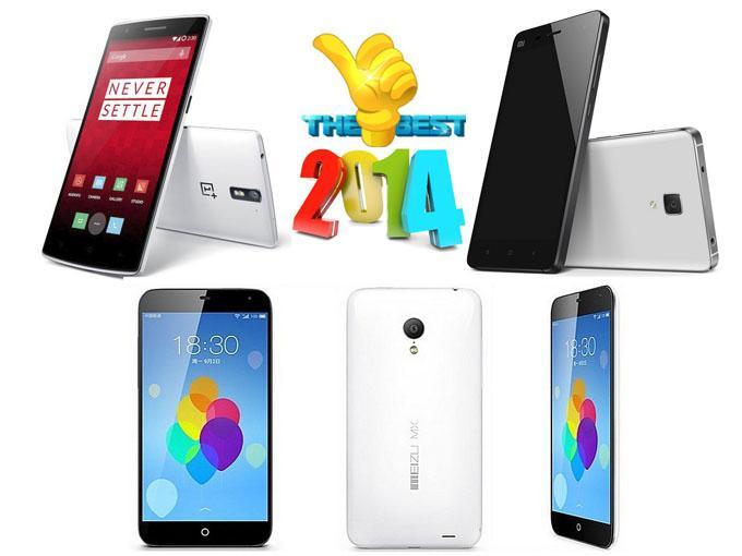 Лучшие китайские смартфоны 2014 года: OnePlus One, Meizu MX4, Xiaomi Mi 4