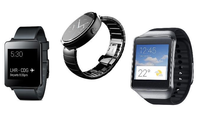 Экран часов на Android Wear