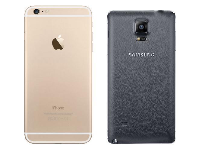 Камера на Galaxy Note 4 и iPhone 6 Plus