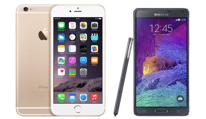 Galaxy Note 4 или iPhone 6 Plus