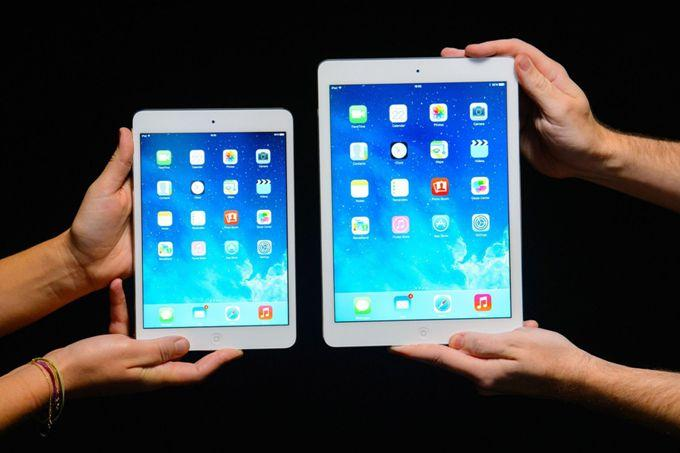 iPad Air 2 и iPad mini 3