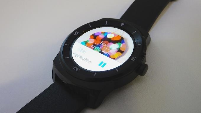 Обзор LG G Watch R