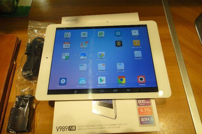Лучший китайский планшет Onda V989
