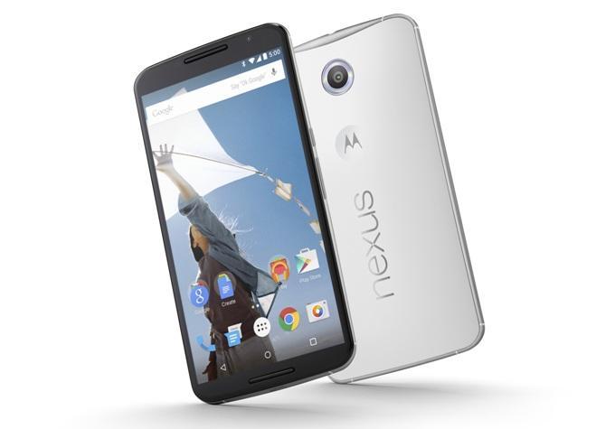 Цвета корпуса Nexus 6
