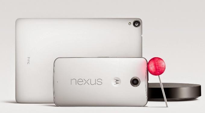 Обзор смартфона Nexus 6, планшета Nexus 9 и приставки Nexus pleer