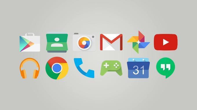 Иконки в Android 5.0 Lollipop