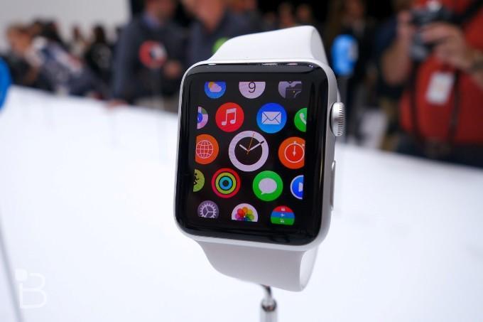 Дисплей часов Apple Watch