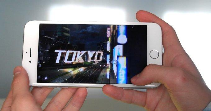 Игры на iPhone 6 Plus
