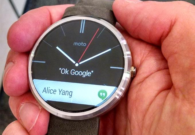 Android Wear на moto 360