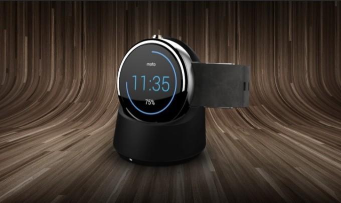 Зарядка часов Moto 360