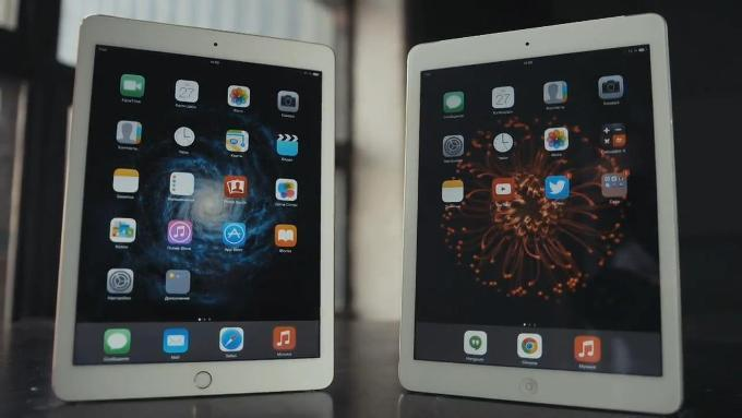 Сравнение iPad Air и iPad Air 2