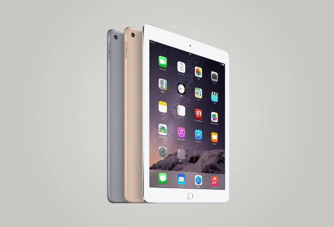 Цвета нового планшета iPad Air 2