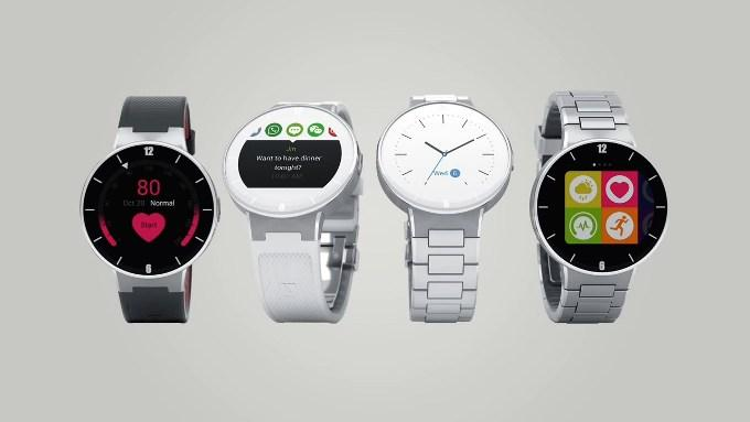 Внешний вид Alcatel OneTouch Watch