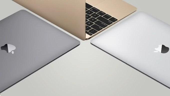 Новые цвета MacBook 12″
