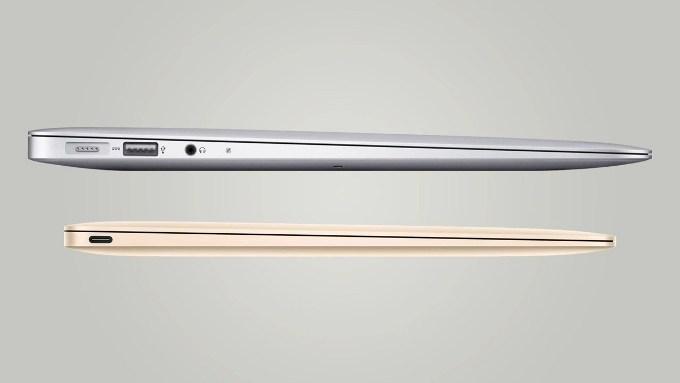Размеры MacBook 12″