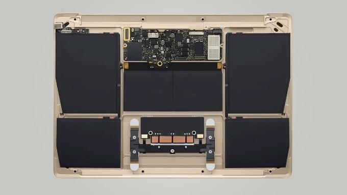 MacBook 12″ внутри