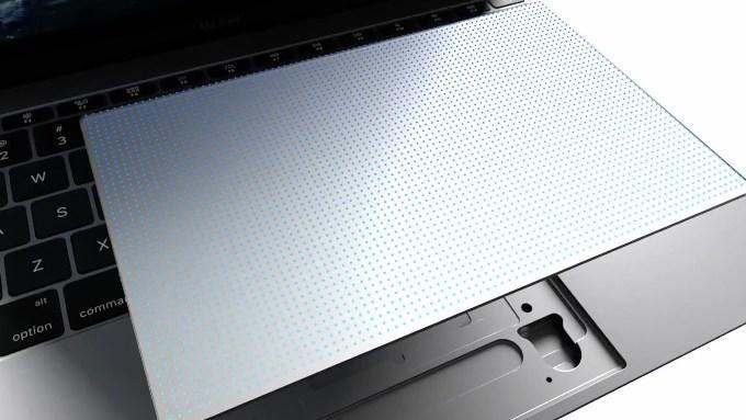 Новый трекпад в MacBook 12″