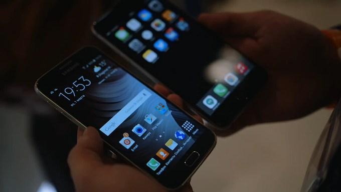 Galaxy S6 и iPhone 6