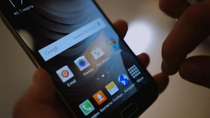 Дисплей в Galaxy S6