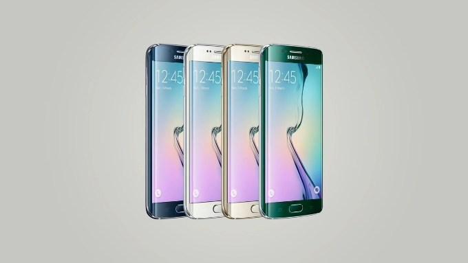 Цвета Galaxy S6 Edge