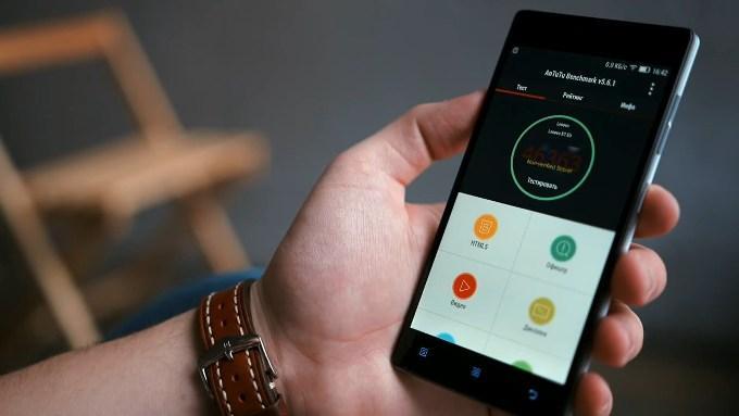 Работа смартфона Lenovo Vibe X2