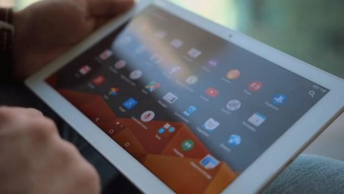 Дисплей в Sony Xperia Z4 Tablet