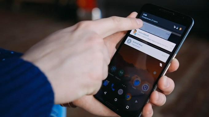 Уведомления в Android 5.1