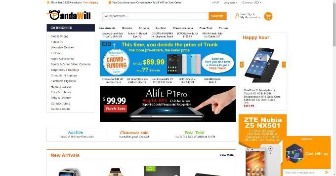 Интернет-магазин Pandawill