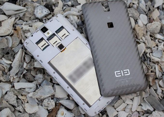 Батарея в Elephone P8000