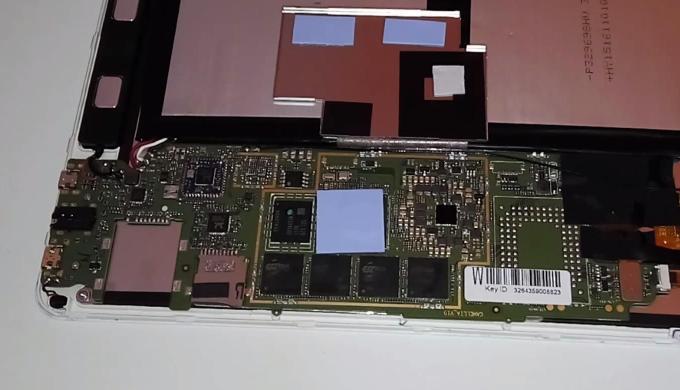 Разборка планшета teclast x98 pro