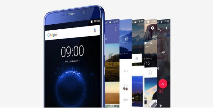 Интерфейс смартфона Elephone S7