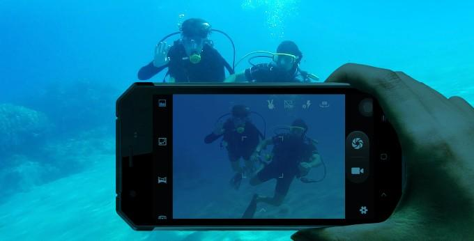 Nomu S30 под водой