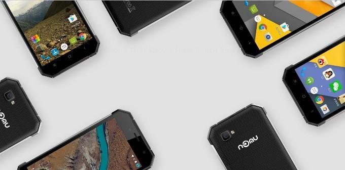 Дизайн смартфона Nomu S30