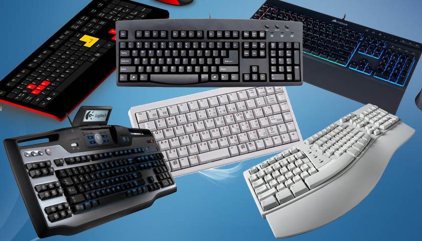 Какие бывают клавиатуры?