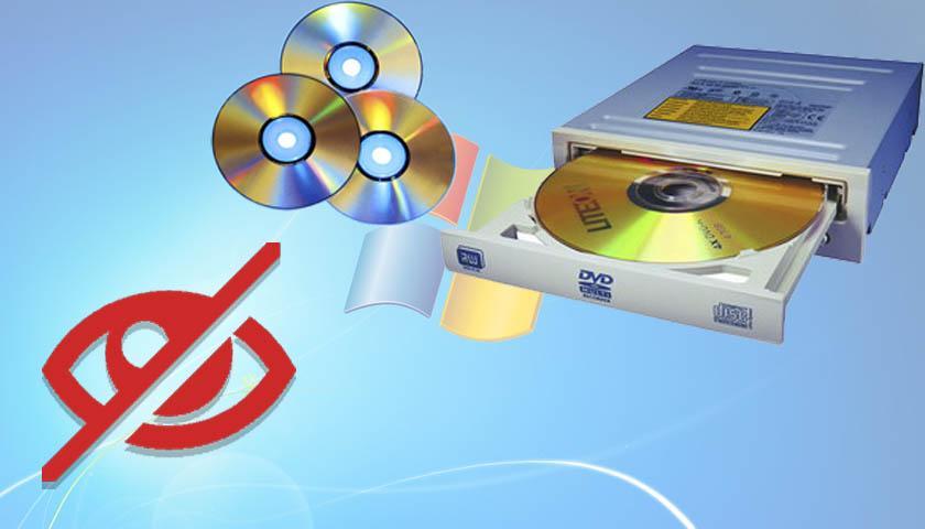 Windows не видит дисковод cd или dvd дисков