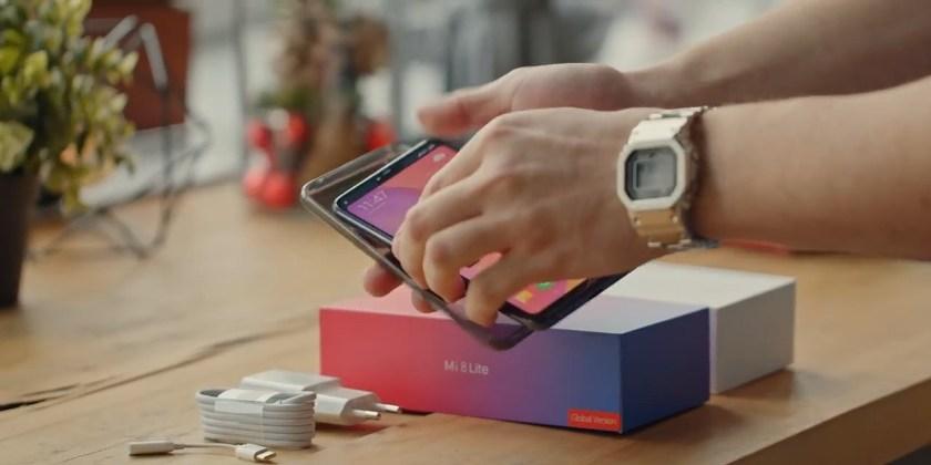Комплектация смартфона Xiaomi Mi 8 Lite