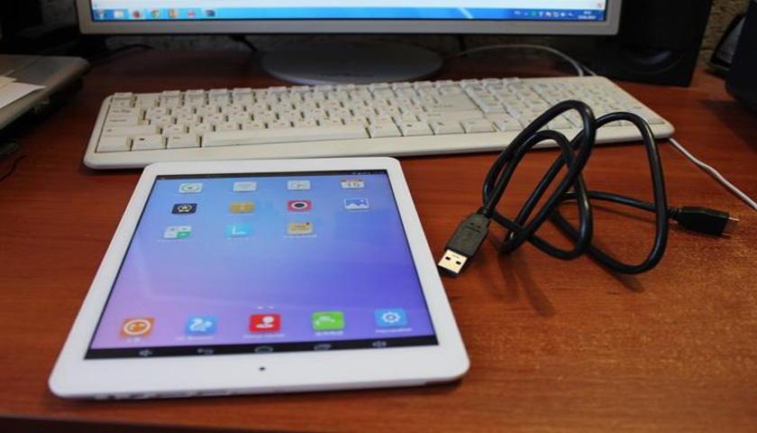 Как подключить планшет к компьютеру через Usb-кабель?