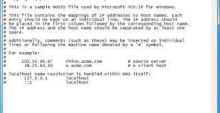 Как изменить файл hosts